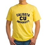 Calisota University Yellow T-Shirt