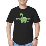 Stuffosaurus Logo Men's Fitted T-Shirt (dark)
