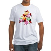  Hawaiian-style 'I'iwi Fitted T-Shirt