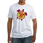 Turtle Within Turtle Fitted T-Shirt