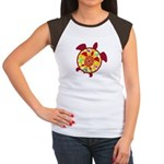 Turtle Within Turtle Women's Cap Sleeve T-Shirt