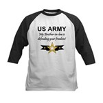 Army Brother-in-law Defending Kids Baseball Jersey