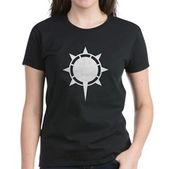 Women's Dark T-Shirt Morning Sun from the Metal From Finland Shop