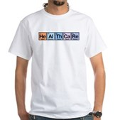 Elements of Healthcare White T-Shirt