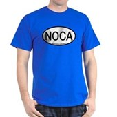 NOCA Northern Cardinal Alpha Code Dark T-Shirt