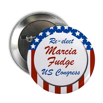Re-Elect Marcia Fudge to the U.S. Congress (Ohio Congressional Campaign Button)