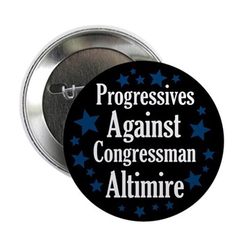Progressives Against Jason Altmire congressional campaign button