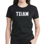 TEiAM Women's Dark T-Shirt