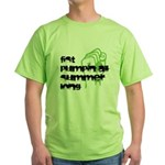 Fist Pumpin All Summer Green T-Shirt