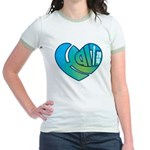 Haiti Heart Jr. Ringer T-Shirt