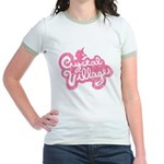 Crystal Village Jr. Ringer T-Shirt