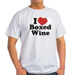 I Heart Boxed Wine Light T-Shirt