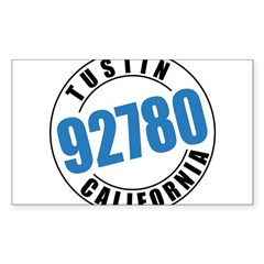 Tustin California 92780 Sticker (Rectangle)
