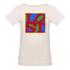 Pop Art LOST Organic Baby T-Shirt