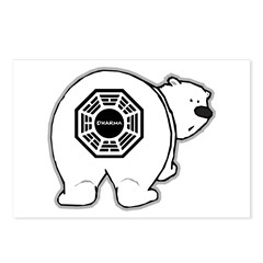 LOST: Dharma Initiative Polar Bear Postcards (Package of 8)