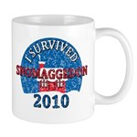 I Survived Snomaggedon Blizzard of 2010 Mug