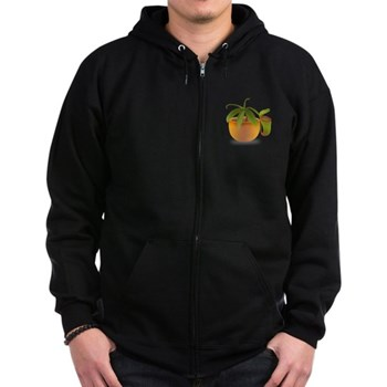 Plantiis Dark Zip Hoodie