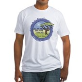 Linnaeus Quote Fitted T-Shirt