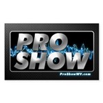 ProShow Logo Sticker (Rectangle 10 pk)