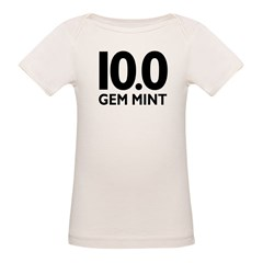 10.0 Gem Mint Organic Baby T-Shirt