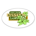 Team Jacob - Austen 51 Sticker (Oval 10 pk)