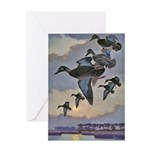 Black Duck Greeting Cards