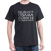 Logical Obama 2012 Dark T-Shirt