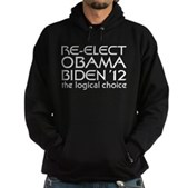 Logical Obama 2012 Hoodie (dark)