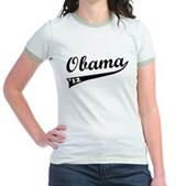 Obama 2012 Swish Jr. Ringer T-Shirt