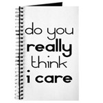 i Don't Care Journal