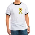Yellow Ribbon Love Miss Airman Ringer T