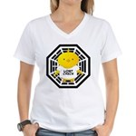 Lost Chick - Dharma Initiative Women's V-Neck T-Shirt
