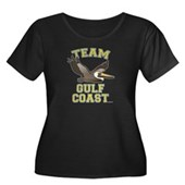 Team Gulf Coast Pelican Women's Plus Size Scoop Ne