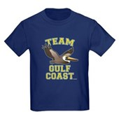 Team Gulf Coast Pelican Kids Dark T-Shirt