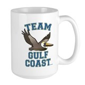 Team Gulf Coast Pelican Large Mug