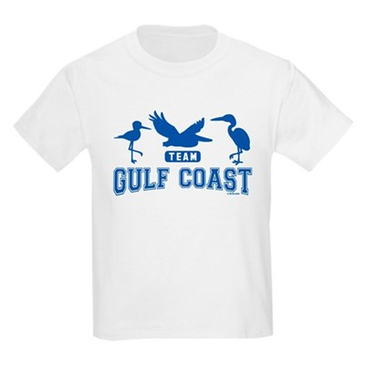 Team Gulf Coast Silhouettes Kids Light T-Shirt