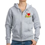 I Heart Schoolhouse Rock! Women's Zip Hoodie