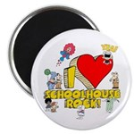 "I Heart Schoolhouse Rock! 2.25"" Magnet (100 p"