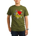I Heart Schoolhouse Rock! Organic Men's T-Shirt (dark)