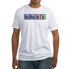 Scrubs Made of Elements Fitted T-Shirt