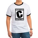 Content Rated C: Castle Fan Ringer T