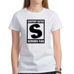 Content Rated S: Scrubs Fan Women's T-Shirt