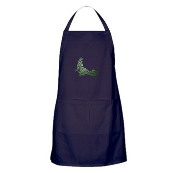 Celtic / Tribal Lizard Apron (dark)