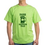 Irish Drinking Team Green T-Shirt