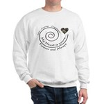Love Courage Commitment Camo Sweatshirt