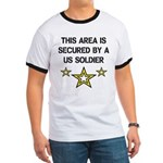 Area Secured by US Soldier Ringer T