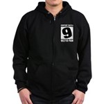 Content Rated 9: 90210 Fan Zip Hoodie (dark)