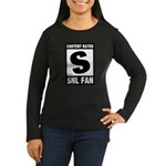Content Rated S: SNL Fan Women's Long Sleeve Dark T-Shirt