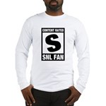 Content Rated S: SNL Fan Long Sleeve T-Shirt