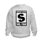 Content Rated S: SNL Fan Kids Sweatshirt